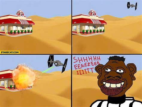 Sheeeeiiiit Meme - kfc memes starecat com