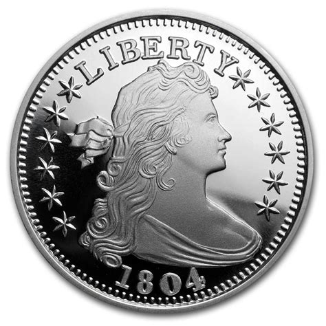 1 oz silver dollar buy 1 oz silver 1804 silver dollar proof like