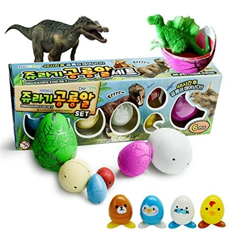 Packed Novelty Expansion Hatching Dinosaur Easter Eggs Toys Kid hatchimals novelty magic 3 size same as hatching