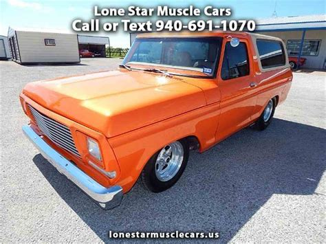 classic ford bronco for sale 1979 ford bronco for sale classiccars cc 990918