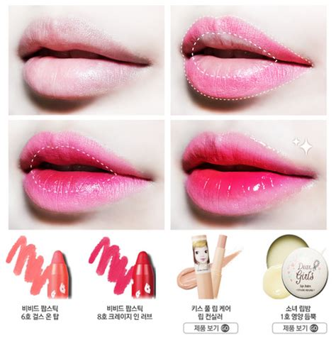 Membuat Lipstik Ala Korea chibi s etude house korea tips membuat gradient ala korea