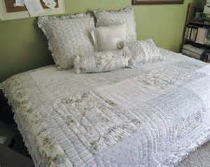 Vintage Chic Bedding Sets Vintage Shabby Chic Bedding Patchwork Quilt Cottage Floral Blue Green Yellow White