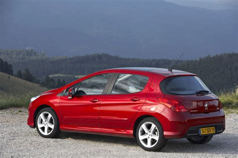 in4ride peugeot updates 308 hatch for 2010