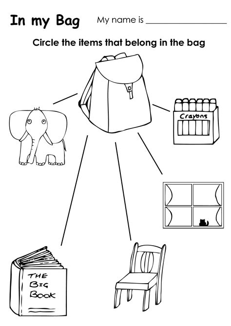Coloring Pages For Kids Classroom Objects | objects coloring pages coloring home