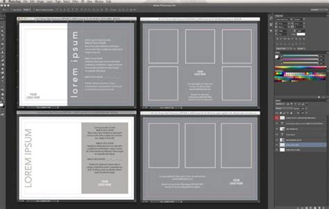 adobe indesign postcard template 5x7 gift voucher template for adobe photoshop indesign