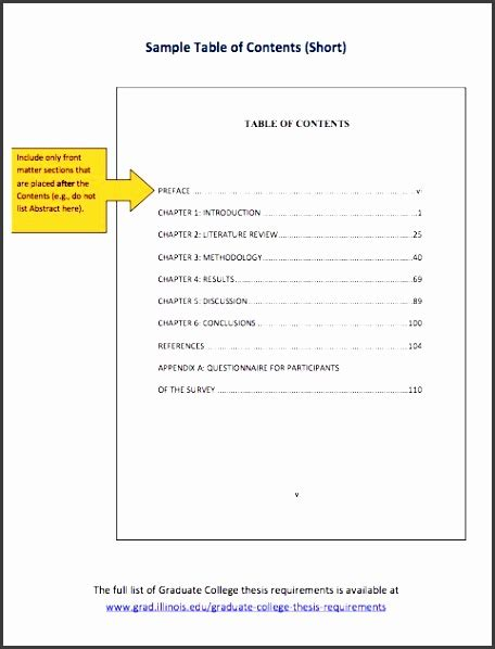 table document template 9 table of contents template in word sletemplatess