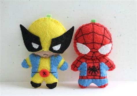 spiderman plush pattern plush felt wolverine and spider man anniversaire 233 cole