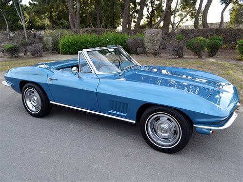 1967 corvette for sale sold 1967 chevrolet corvette convertible marina blue 300hp