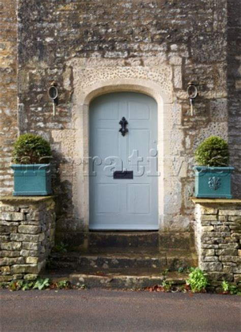 light blue front door dp021 04 light blue front door of stone farmhouse in