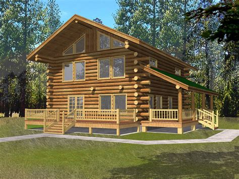 Cabin House by Quaint Cottage Log Cabin Home Plan 088d 0062 House Plans