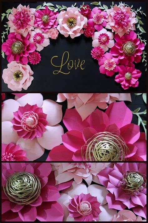 Katee Spadee Flower 1000 ideas about paper flower backdrop on