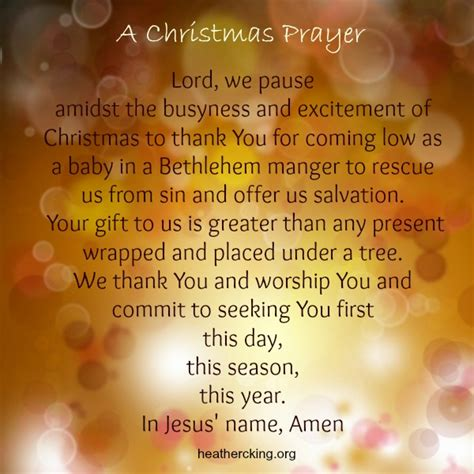 28 best sle of opening prayer for christmas prayer