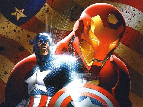 wallpaper captain america vs iron man my free wallpapers comics wallpaper civil war