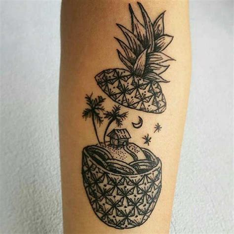 32 perfectly awesome pineapple tattoos tattooblend
