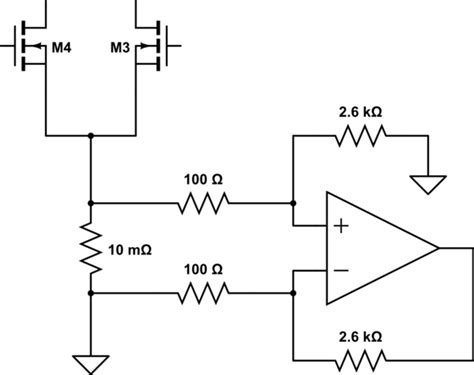 using shunt resistor to measure current measure current through h bridge using shunt electrical engineering stack exchange