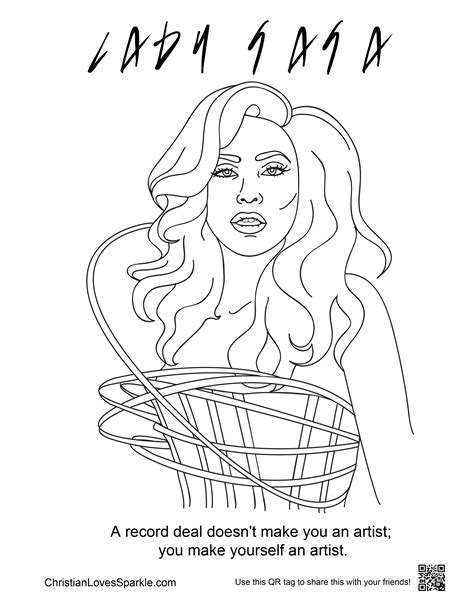 coloring book album free gaga coloring pages best coloring page gaga