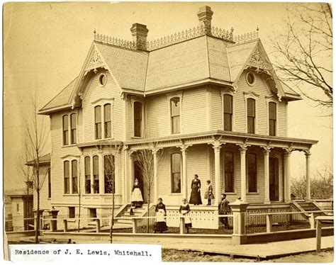 house of lewis history of whitehall michigan the lewis house b b