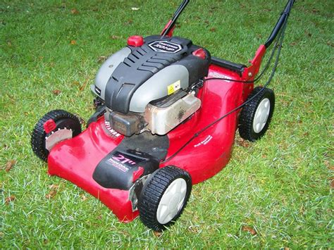 Garage Sale Lawn Mower by Craftsman Dlm 21 Quot Self Propelled Lawnmower Lawn Garden