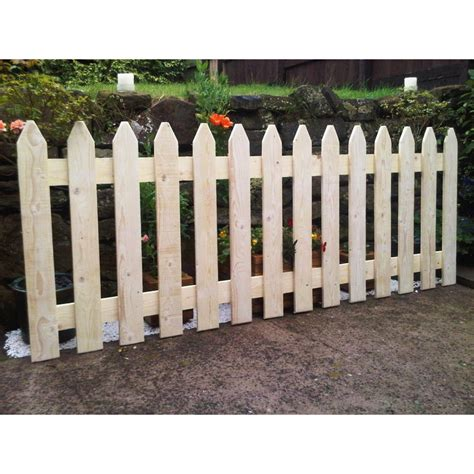picket fences picket fence panels rough sawn frodsham gates and