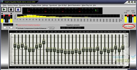 free java mp3 player with equalizer graphic equalizer studio latest version 2016 free download