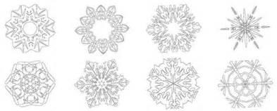 malvorlagen schneeflocken weihnachten