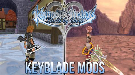 mod game com kingdom hearts birth by sleep keyblade mods youtube