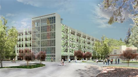 clark pacific managing new parking garage office at