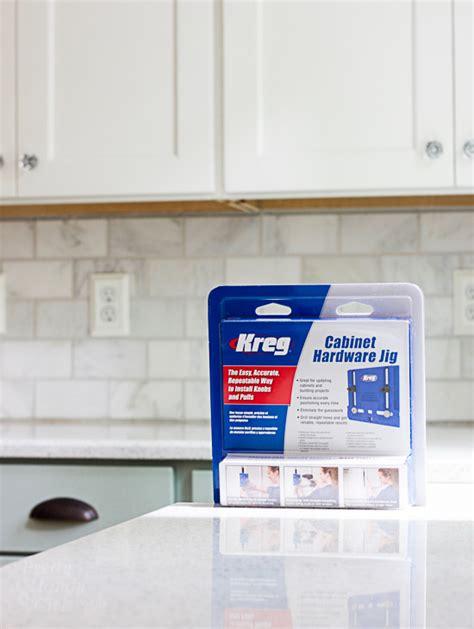 kreg cabinet hardware jig install cabinet handles the easy way pretty handy