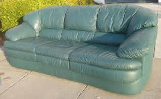 green leather sofa uhuru furniture collectibles sold green leather sofa