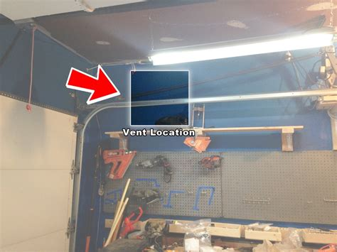 Up Garage Locations by Exhaust Fan For The Garage Step By Step Installation