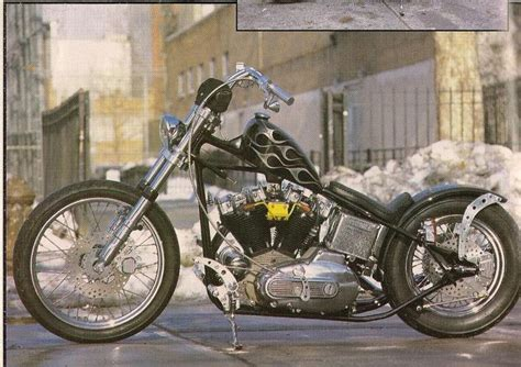 M C Psycho gasoline alley indian larry alley psycho cycles ny etc