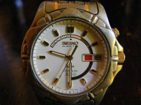 Seiko Kinetic Sq50 Original seiko kinetic titanium sq50 penang end time 9 24 2011 5