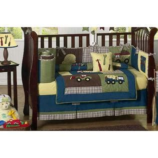 Construction Crib Bedding Set by Sweet Jojo Designs Construction Collection 9pc Crib