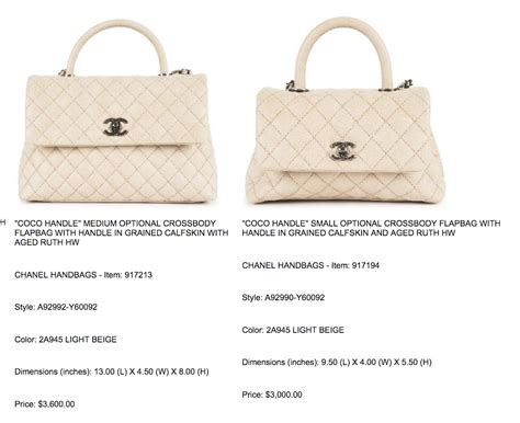 coco handle size chanel coco handle need help on size please page 16