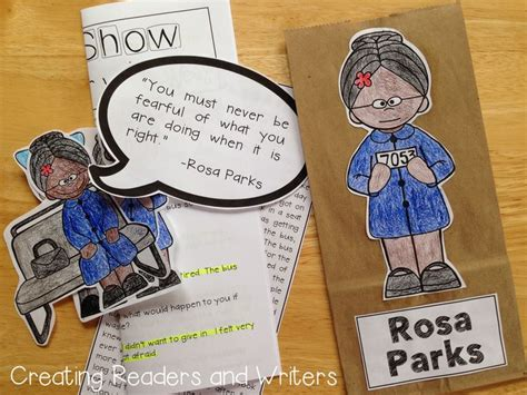 rosa parks biography for middle school 12 best rosa parks images on pinterest school projects