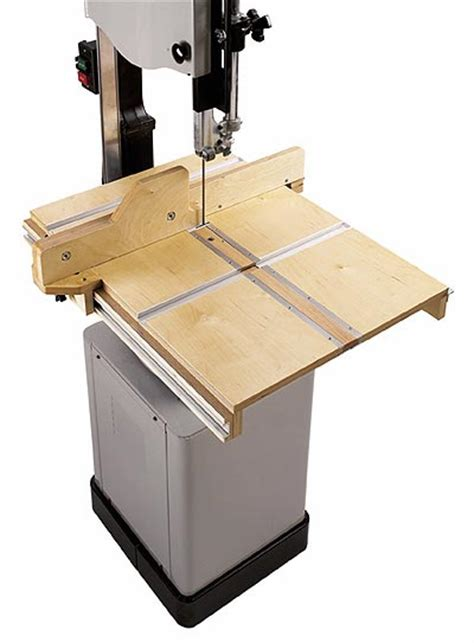 bandsaw woodworking bandsaw table system woodworking plan from wood magazine
