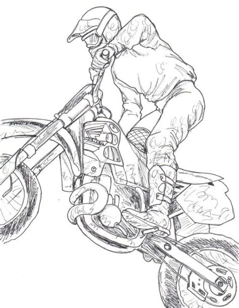 how to draw a motocross 7 best dirtbike images on pinterest dirt bikes dirt