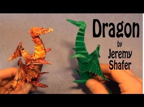 How To Make Origami By Shafer - fold an origami by shafer