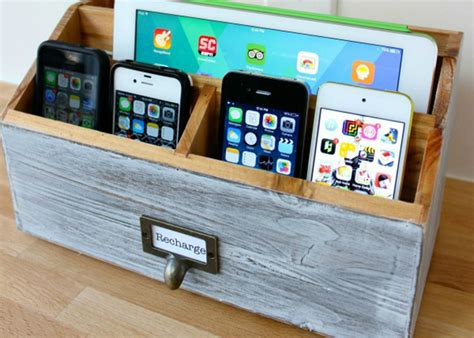 diy charging station plans make your own diy charging station