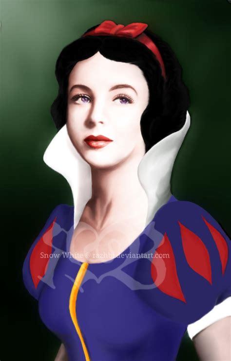 painting snow white snow white by razhbi on deviantart