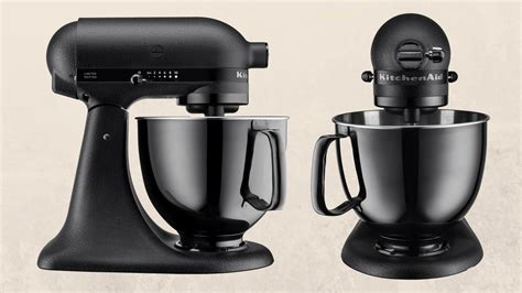 black tie stand mixer kitchenaid released an all black stand mixer and changed