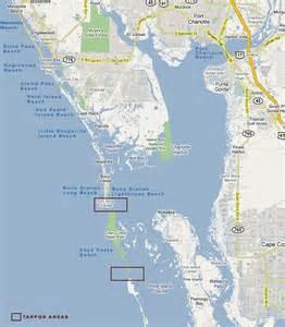 map of islands florida fishing cape fl tarpon boca grande tarpon
