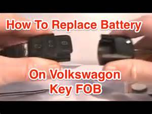 how to install a new battery in a car how to replace key fob battery on vw jetta