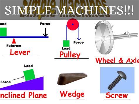 Simple Machines simple machines by artrockstb