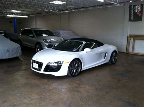 Audi Garage by New Addition To The Garage Audi R8 Convertible