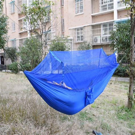 swinging hammock bed outdoor jungle cing mosquito net hammock hanging swing