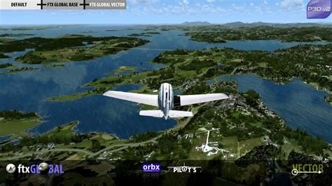 uninstalling ftx vector orbx ftx global vector europe preview p3d 2 0 youtube