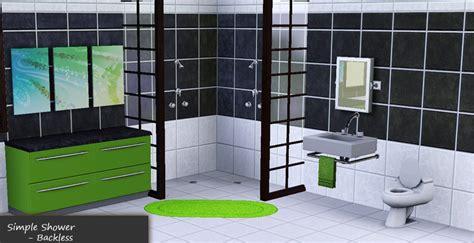 mod backless showers