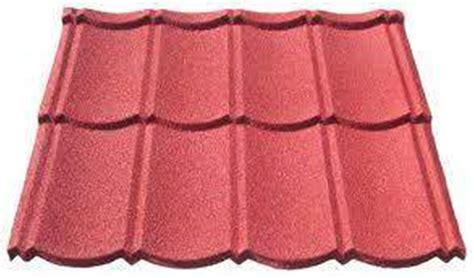 Genteng Metal Pasir Merah 0 3mm cv mandiri tehnik roof truss