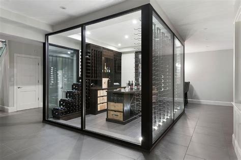 Kitchen Cabinets Wine Rack by Cool Wine Cellar Custom Glass Wine Cellars Gallery